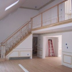 Indoor remodeling project Cape Cod